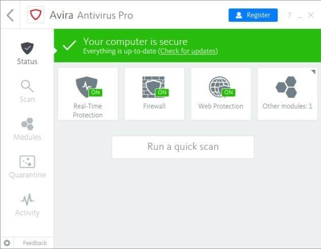 Avira Antivirus Pro 2021 Crack + Activation Code [ Latest ]